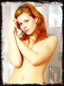 Red haired girls are way too much fun, with a hot bottom...
