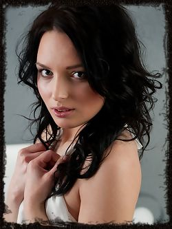 Black hair, porcelain smooth skin, and a delightfully meaty...