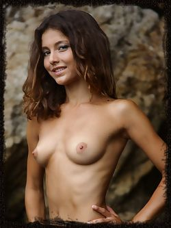 Divina A tight body with exquisite female curves and olive...
