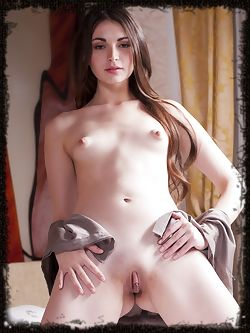 Lukki Lima shows off her body's flexibility as she spreads...
