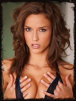 Malena Morgan's breathtaking beauty and allure lovingly...