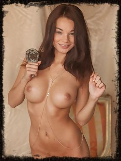 Nici Dee is stunning with her scrumptious, smooth body,...