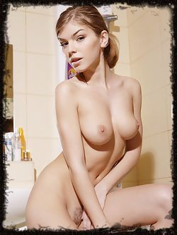 Ultra hot Inga is a petite girl with perky breasts and a...