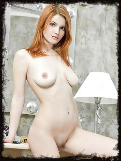 Violla A's womanlly allure stands out, with her pale smooth...